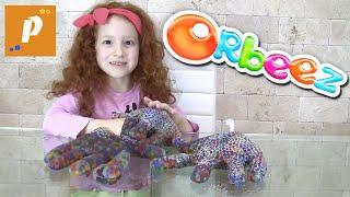 Что это? Замараживаем шарики орбиз Создаём кисти рук из растущие шарики орбиз New orbeez toys