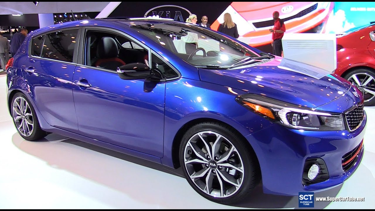 2017 kia forte5 sx exterior and interior walkaround 2016 new york auto show youtube. Black Bedroom Furniture Sets. Home Design Ideas
