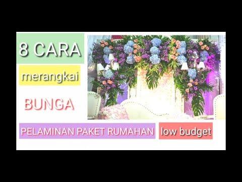 Cara Merangkai Bunga Pelaminan Satya 0811293008