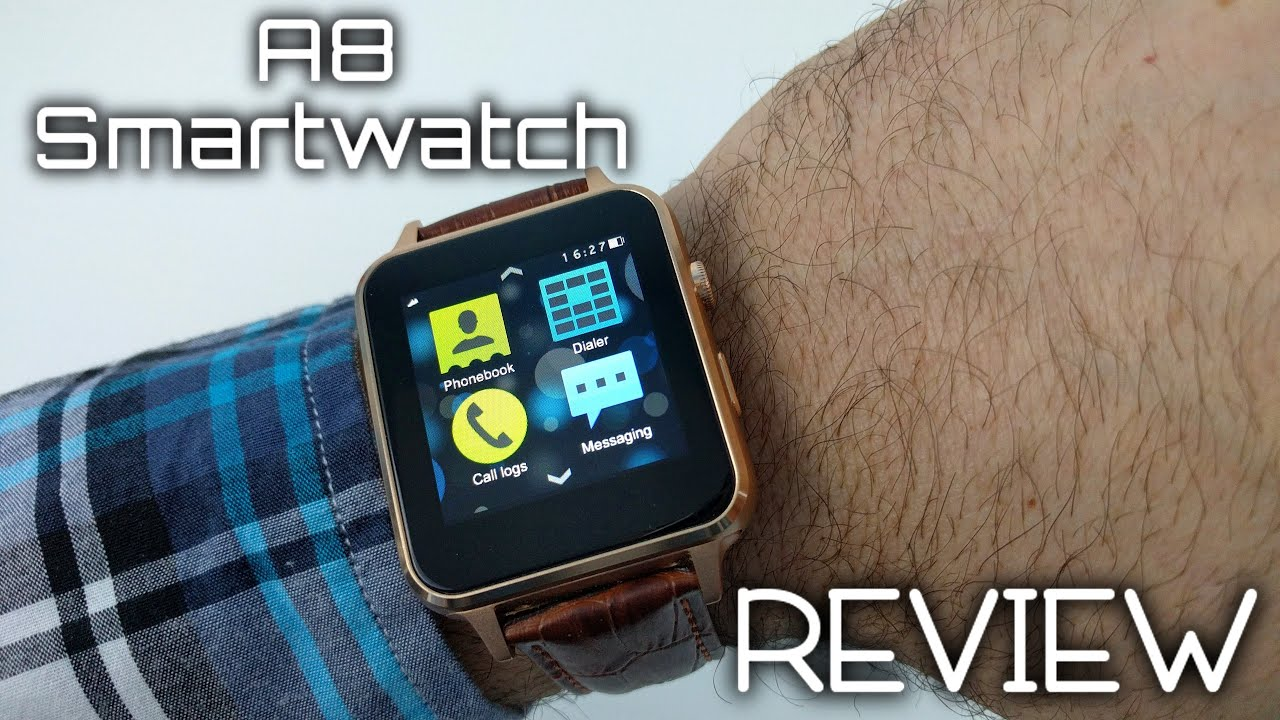 A8 Smartwatch REVIEW - An Apple watch replica?
