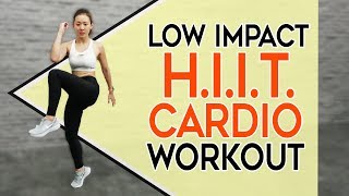 Low Impact HIIT CARDIO | No Jumping, No Weights | Joanna Soh