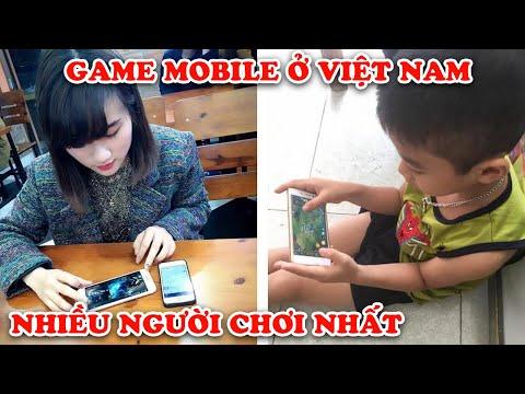 7 Game Mobile Có Nhiều Người Chơi Nhất Đang Thống Trị Tại Việt Nam