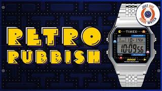 RETRO RUBBISH! The Timex Pacman Is A Lazy Cash Grab.