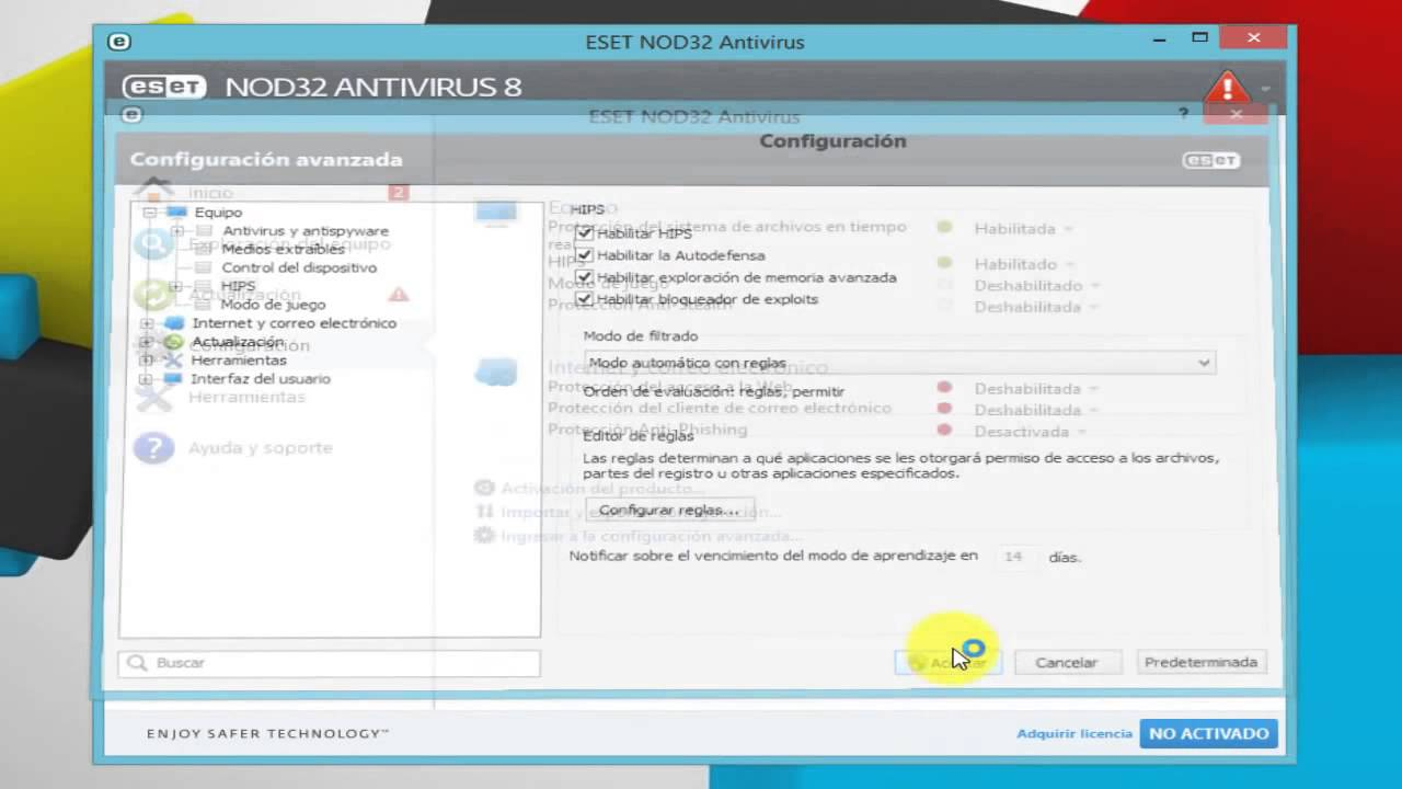 Descargar eset nod32 antivirus 8 2015 licencias para siempre from youtube youtube