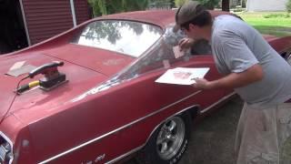 69 Ford Galaxie Restoration Part 1.
