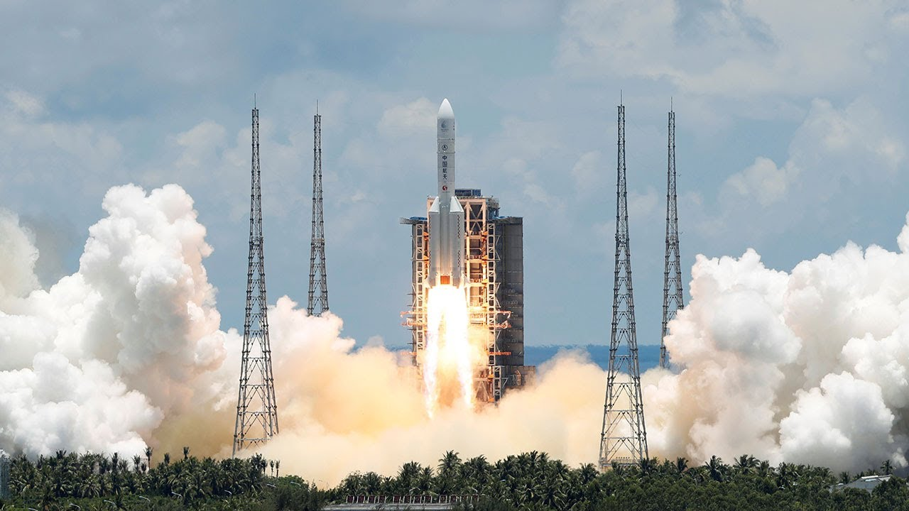 China Launches Ambitious Mission To Mars