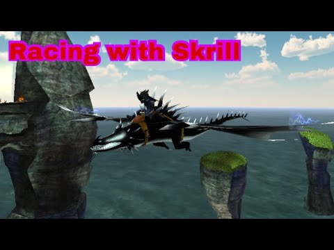 School of dragons : thunderdrum racing with skrill - YouTube