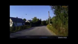 Mio MiVue 366 - test kamerki 7 - zwierzęta na drodze