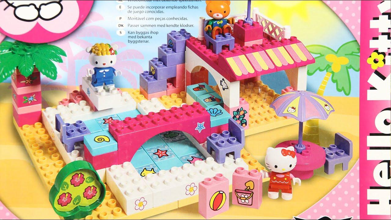 Bungalow unico set domek wypoczynkowy bungalow klocki - Lego hello kitty maison ...