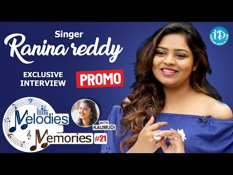 Singer Ranina Reddy Exclusive Interview PROMO || Melodies And Memories #21