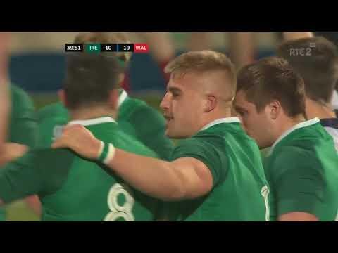 Irish Rugby TV: Ireland U-20s v Wales U-20s Highlights