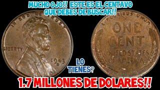 💸EXTREMADAMENTE VALIOSO,👉AUN HAY MAS..BUSCALO EN EL CAMBIO💰 LINCOLN CENT 1943 D BRONZE!