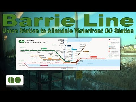 Barrie Line - GO Transit 1976-78 Hawker Siddeley Bilevel I 2051 (Union Stn to Allandale Waterfront)