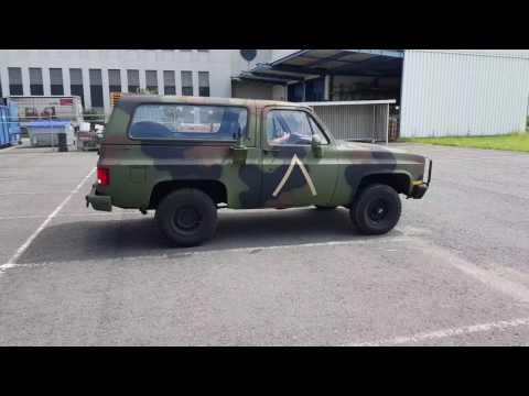 CUCV M1009 1985 Chevy Blazer K5 Ex Army