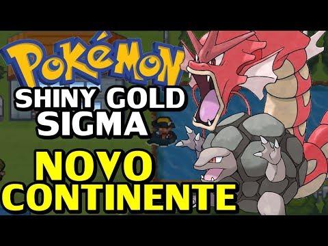 Pokémon Shiny Gold Sigma (Detonado - Parte 21) - Novo Continente E Whirlpool