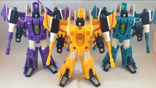 Transformers Botcon 2013 Seekers - Sunstorm, Bitstream and Hotlink
