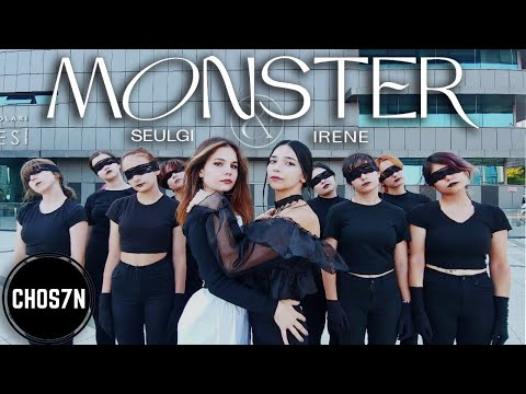 [KPOP IN PUBLIC TURKEY] RED VELVET (레드벨벳) - IRENE & SEULGI 'MONSTER' Dance Cover by CHOS7N