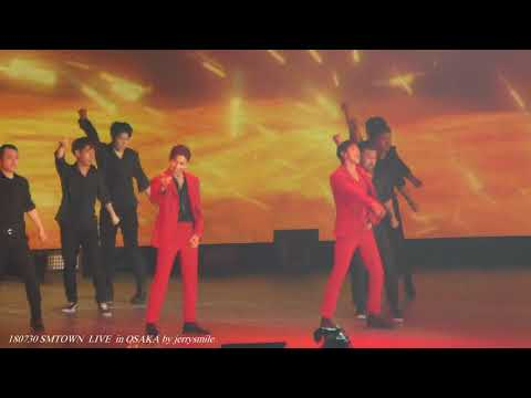 """180730 SMTOWN in OSAKA / TVXQ! """" Why"""" """" Catch Me"""""""