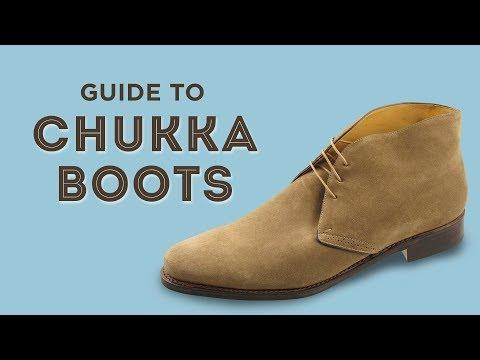 Chukka Boots & Desert Boot Guide