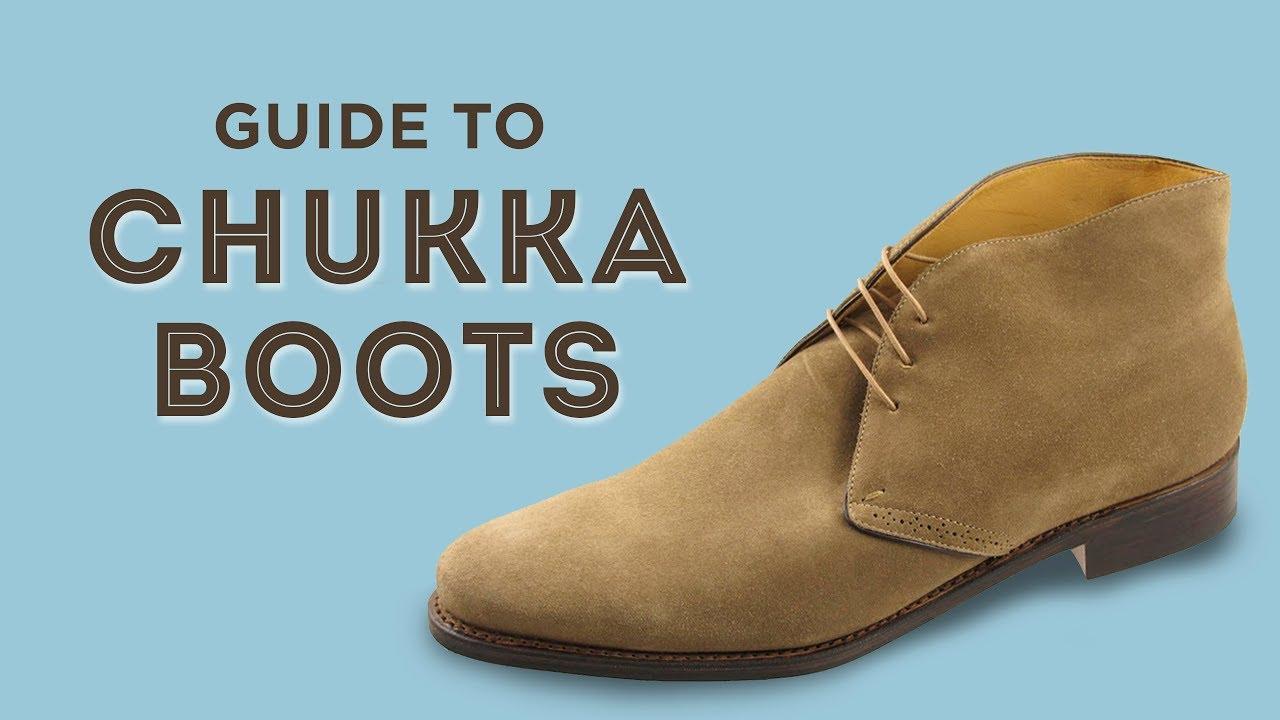 002118ccb752f Chukka Boots & Desert Boot Guide - YouTube