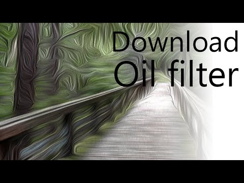 How to Download Oil Filter for Photoshop