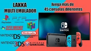TUTORIAL LAKKA MULTI EMULADOR PARA SWITCH