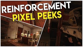 Check Out These Reinforcement Pixel Peeks | Rainbow Six Siege Tips And Tricks