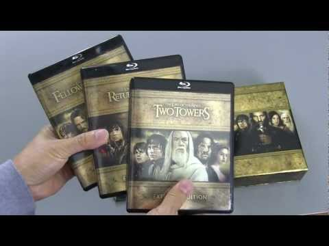Lord of the Rings Trilogy Extended Edition Blu-Ray Box Set