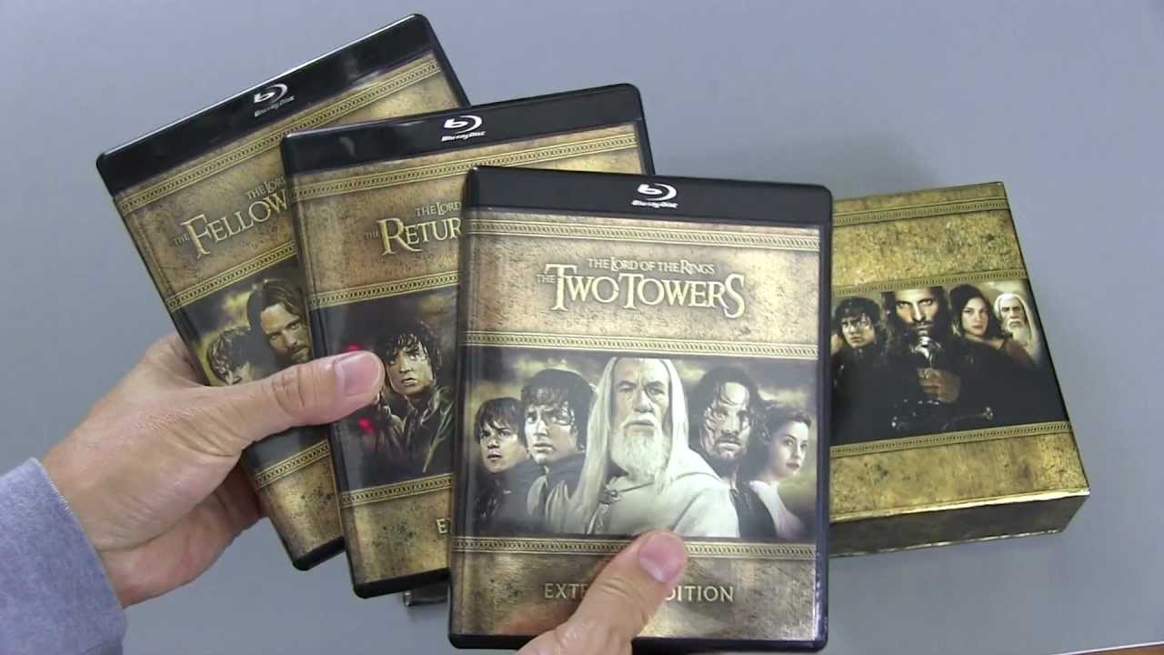 Extended Lord Of The Rings Box Set
