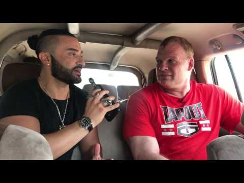 WWE'S Kane talks to Kris Fade