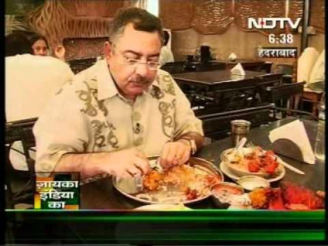 ZAYAIKA INDIA KA - HYDERABAD - DONE BY SAMEER WITH MR VINOD DUHA - NDTV.DAT