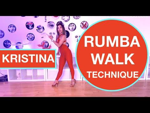 Kristina Androsenko - Technique - Basic Movement Rumba / Cha Cha