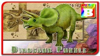Triceratops - 3D Dinosaur Puzzle.  Construim un dinozaur.  Bogdan`s Show