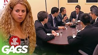 Toilet Boardroom Surprise Prank