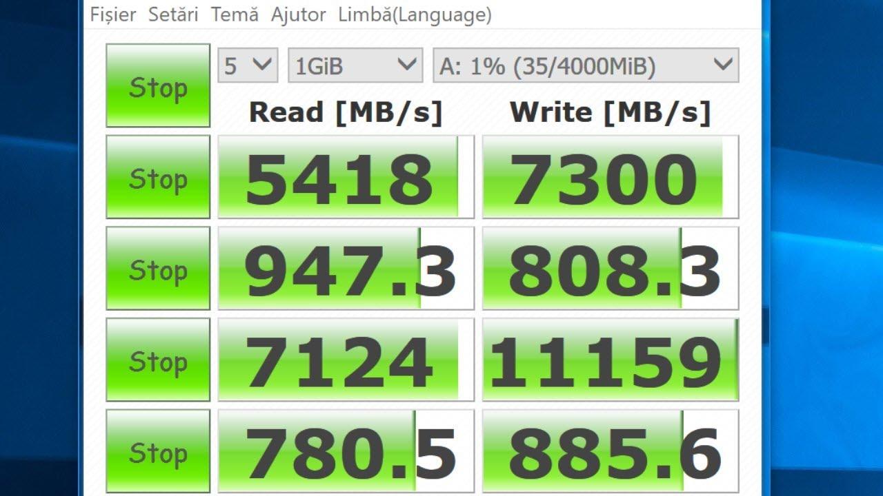 Disk pe RAM ultra rapid care bate orice SSD