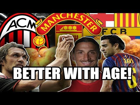 5 Footballers Who Got Better With Age!