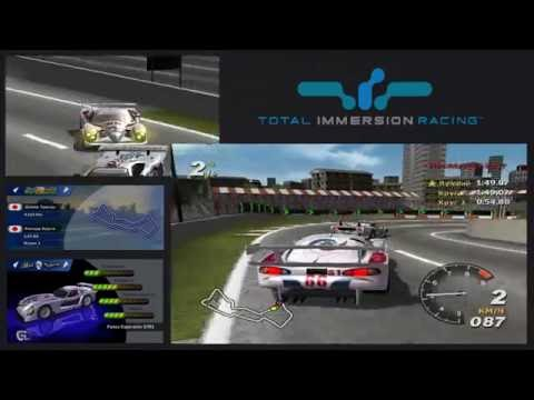 Total Immersion Racing: Panoz GTR1/Minato City (Gameplay 2002)