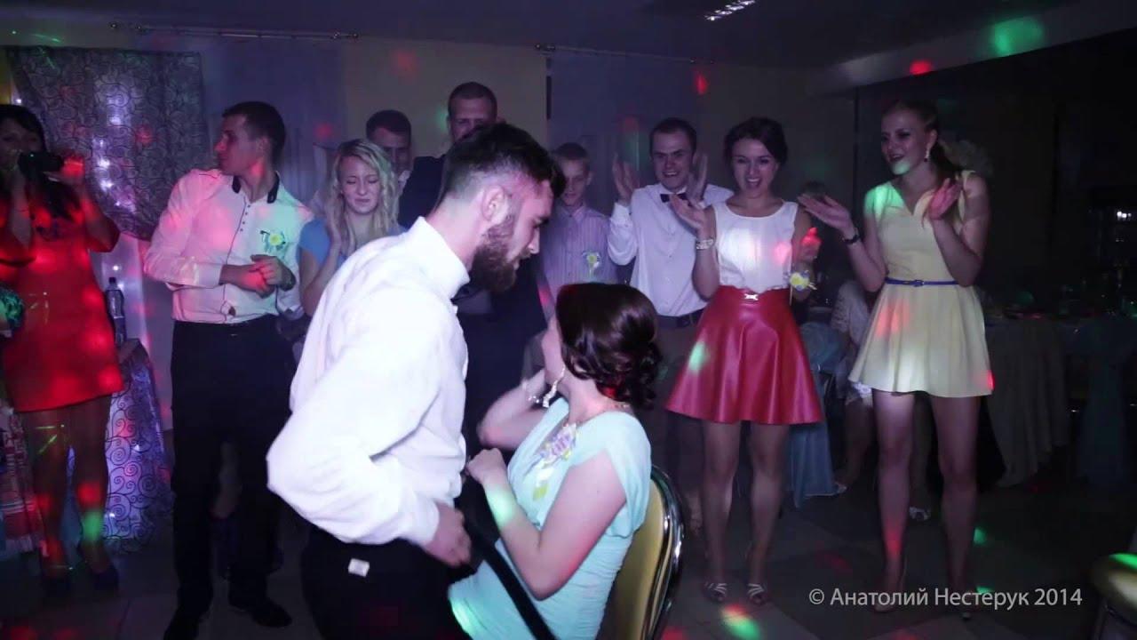Женский стриптиз перед свадьбой