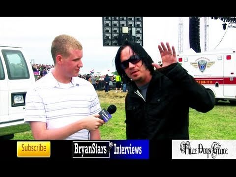 Three Days Grace Interview #2 Adam Gontier 2010