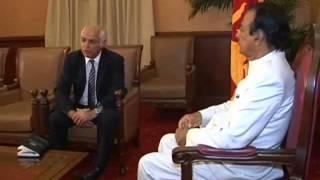 Ambassadors of Sri Lanka in Afghanistan met Hon. Prime minister D.M.Jayaratne