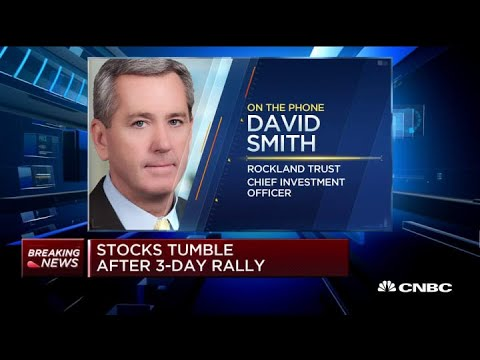Market sell-off is expected after the recent run-up: Rockland Trust's Smith