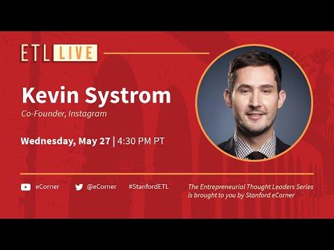 ETL Speaker Series: Kevin Systrom, Instagram
