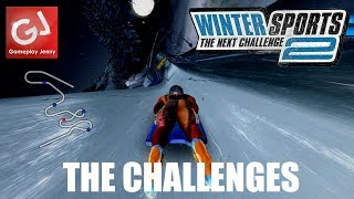 """""""SKI MATHS"""" - Let's Play Winter Sports 2009: The Next Challenge (Badly)"""