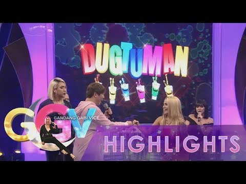 "GGV: Vice Ganda, Ethel Booba and K Brosas for ""Dugtuman Challenge"" Round 1"