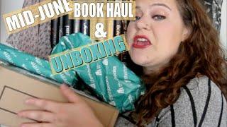 MID-JUNE BOOK HAUL & UNBOXING   2016