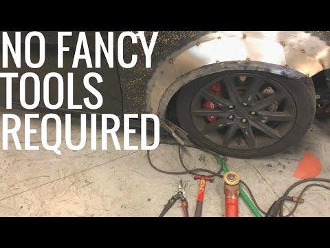 DIY IS250 Widebody with Simple Tools