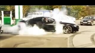 дрифт на свадьбе BMW  M6
