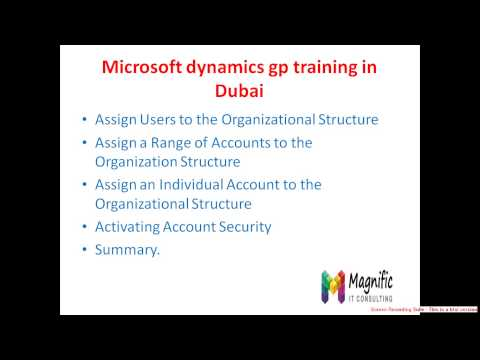 Microsoft Dynamics online training in Dubai
