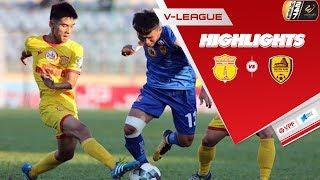 Highlights | DNH Nam Định - Quảng Nam | Đội khách giành 3 điểm kịch tính ở Thiên Trường | VPF Media