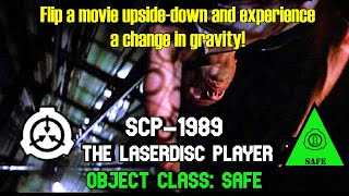 SCP-1989 The Laserdisc Player | object class safe | Marshall, Carter, and Dark scp
